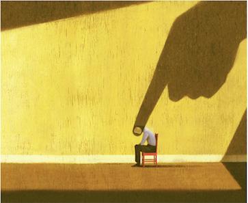 """image de couverture de l'article : """"la honte à l'adolescence"""", sur le blog de NGI"""