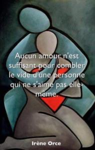 image de l'article estime de soi, citation de Irène Orce.