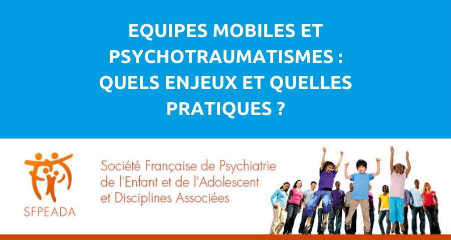 """image de couverture de l'article : """"équipes mobiles et psychotraumatismes"""""""