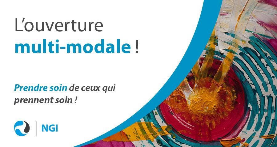 image de couverture du dossier mensuel du mois de février : l'ouverture multi-modale ! Article écrit par Cyrille Bertrand, directeur de NGI.