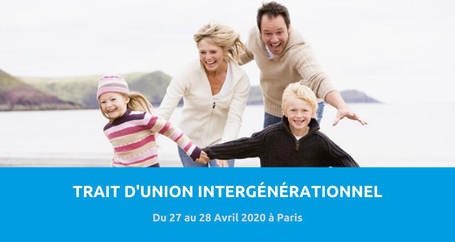 Image de couverture de l'article concernant la Journées de recherche de l'Association parisienne de recherche et de travail avec les familles (APRTF) : l'enfant, un trait d'union intergénérationnel. Du 27 au 28 Avril 2020 à Paris.