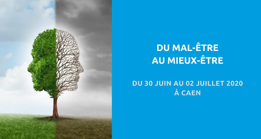 image de couverture de l'article concernant la 3esJournées de la Fédération Trauma suicide liaison urgence : «du mal-être au mieux-être». Du 30 Juin au 02 Juillet 2020 à Caen.