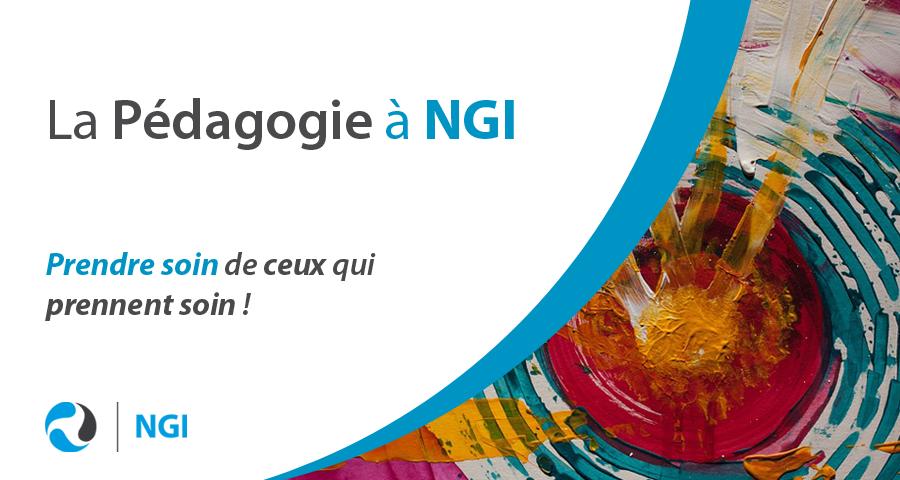 image de couverture de l'article mensuel : la pédagogie à NGI, écrit par Cyrille Bertrand.