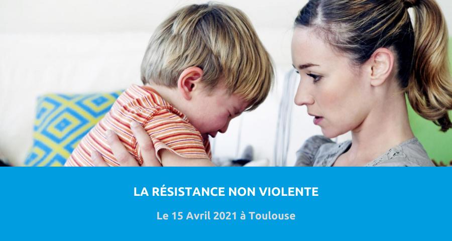 image de couverture de l'article concernant la Conférence du Service universitaire de psychiatrie de l'enfant et de l'adolescent (SUPEA) du CHU de Toulouse :«la résistance non violente». Le 15 Avril 2021 à Toulouse.
