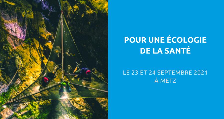 image de couverture de l'article concernant les 10esJournées nationales de la Fédération Addiction :«écologie de la santé». Le 23 et 24 Septembre 2021 à Metz.