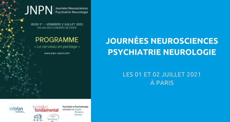image de couverture de l'article concernant la Journée organisée en partenariat avec l'Association française de psychiatrie biologique et neuropsychopharmacologie (AFPBN), le Congrès français de psychiatrie et la Fondation Fondamental :«neurosciences psychiatrie neurologie». Le 01 et 02 Juillet 2021 à Paris.