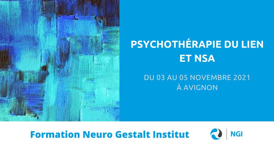 image de couverture de l'article concernant la formation PDL & NSA, créée et animée par Neuro Gestalt Institut, se déroulera du 03 au 05 novembre 2021 à Avignon.