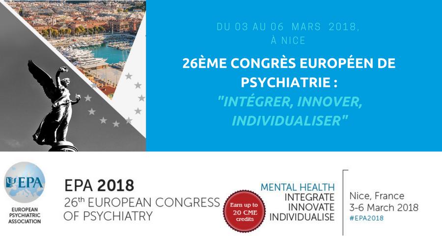 couverture de l'article la santé mentale. Le 26ème Congrès européen de psychiatrie organisé par l'European Psychiatry Association(EPA). article NGI