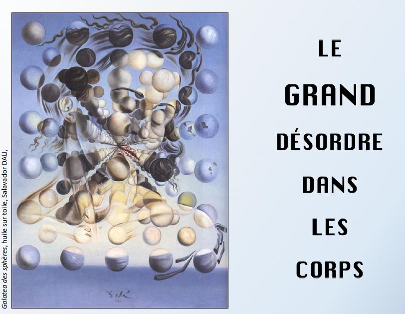 """Image de couverture de l'article événement : """"Le grand désordre dans les corps"""", article du blog NGI"""