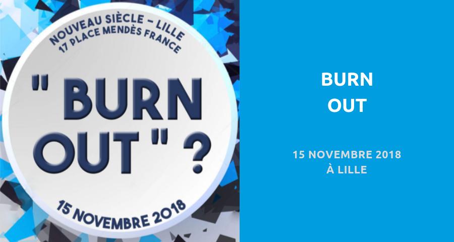 """image de couverture de l'article """"burn out"""", le 15 novembre 2018 à lille"""