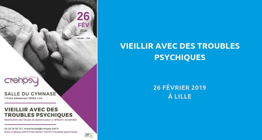 """image de couverture de l'article : """"vieillir avec des troubles psychiques"""", journée d'atelier le 26 février 2019 à Lille, organisé par le Crehpsy Hauts-de-France"""