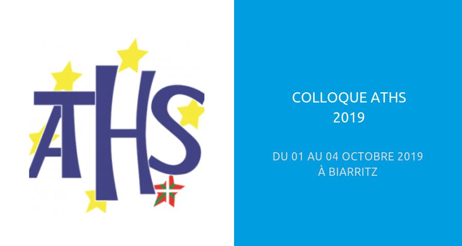 image de couverture de l'article consacré au colloque ATHS édition 2019, à Biarritz du 01 au 04 Octobre 2019