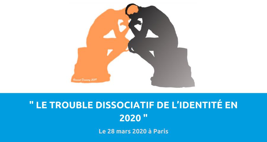image de couverture de l'article concernant la 4eJournée de conférence organisée par l'Association francophone de trauma et de la dissociation : le trouble dissociatif de l'identité en 2020. L'événement aura lieu à l'Université Descartes à Paris, le 28 mars 2020.