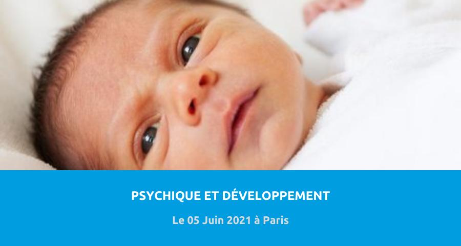 image de couverture de l'article concernant 21eJournée de psychopathologie du nourrisson :«construction psychique et aléa du développement». Le 05 Juin 2021 à Paris.